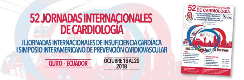 52 Jornadas internacionales de Cardiología